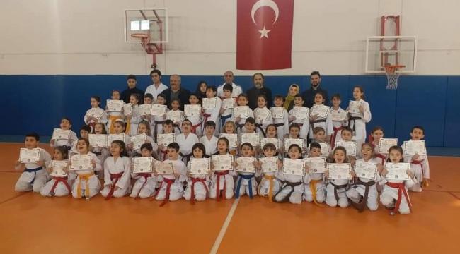 Silivri Karate Kulübü'nde Kuşak Terfi Heyecanı