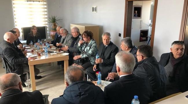 Silivri SİAD'tan Sırdaş Ailesine Başsağlığı Ziyareti