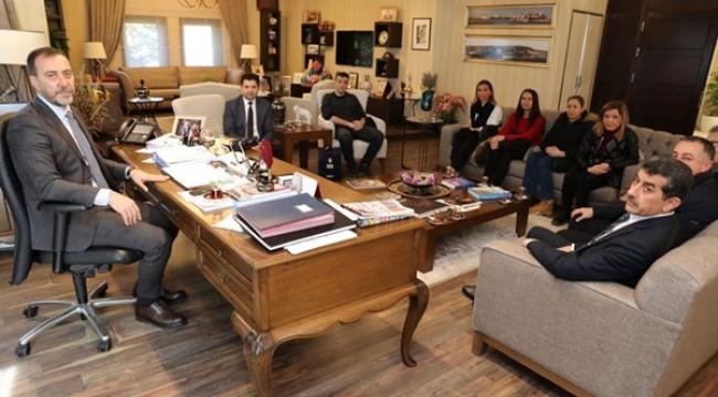 Yılmaz'ın Bursa'dan Misafirleri Vardı