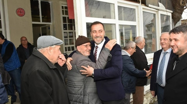 Başkan Yılmaz ve ekibinden, Fenerköy çıkarması