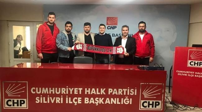 Büyükkılıçlı Spor Kulübü'nden CHP'ye Ziyaret