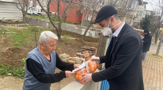 CHP Gençliği Büyüklerinin Yanında Olmaya Devam Ediyor