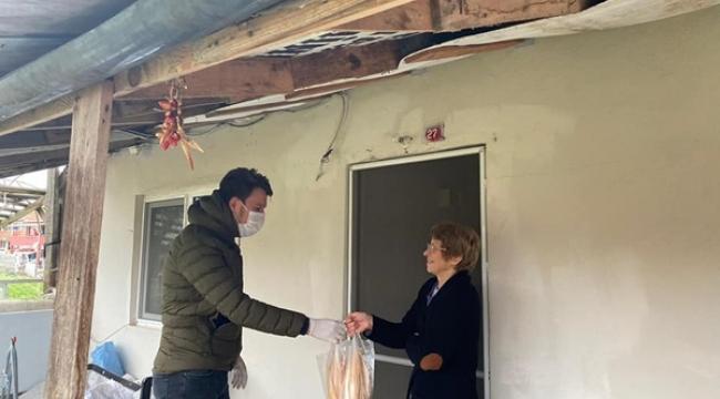CHP Silivri Gençliği, Evden Çıkamayanların Yardımına Koşuyor!