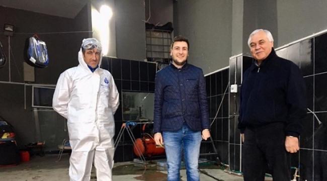 İmamoğlu'nun Talimatıyla Silivri'de Minibüs, Taksi ve Dolmuşlara Yönelik Dezenfeksiyon Seferberliği Başladı!