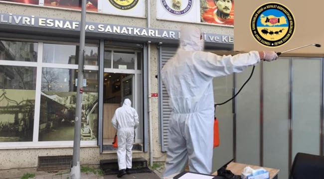 Kredi Kefalet Kooperatifi'nde Korona Virüsüne Karşı Önlem Alındı