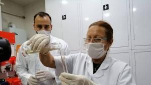 Silivri Belediyesi'nin Dezenfektanını Eczacı İlknur Sönmez Üretiyor