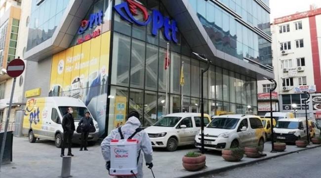 Silivri PTT Binası İlaçlandı