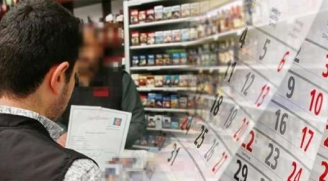 Tütün Mamulleri ve Alkollü İçki Satışı Yapan İşyerlerinin Süre Uzatım Başvuruları 2 Ay Ötelendi