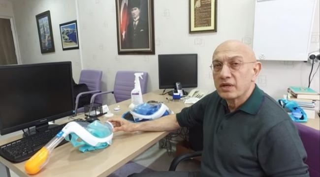 Doktor Hızır Aydın Viral Risklere Karşı Korunmayı SağlayacakMaske Tasarladı