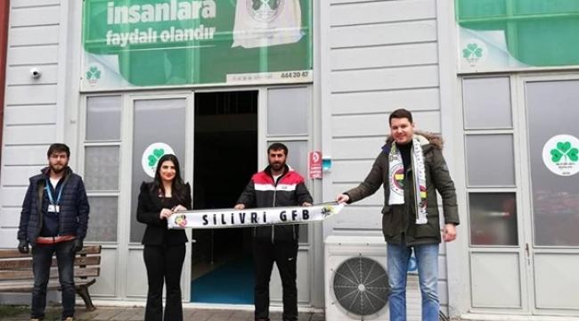 Silivri Genç Fenerbahçeliler Derneği'nden Gıda Bankası'na 33 Erzak Kolisi Bağış