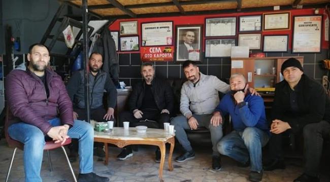 İASKF Yönetim Kurulu Üyesinden Soydaş'a Ziyaret