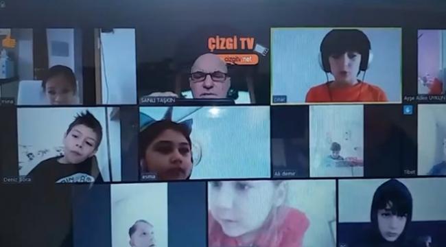 Öğrenciler, Çizgi TV'de Öğretmenleri ile Buluşuyor