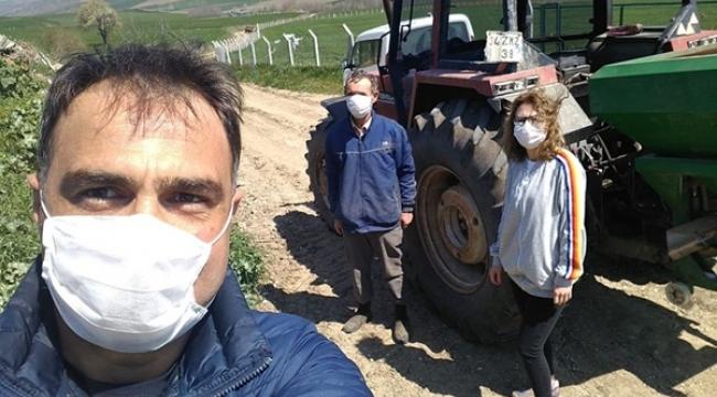 Silivri'de Buğday Tarlalarında Süne Kontrolü Başladı