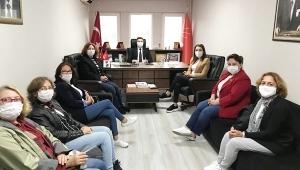 CHP Silivri, İl Kadın Kolları Başkanını Ağırladı
