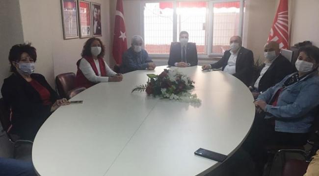 CHP Silivri'nin Küçükçekmece'den Misafirleri Vardı