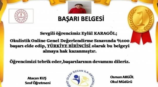 Genel Değerlendirme Sınavı Türkiye 1'incisi Silivri'den Çıktı