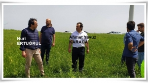 İl Tarım ve Orman Müdürü, Gazitepe ve Kadıköy'de İncelemelerde Bulundu