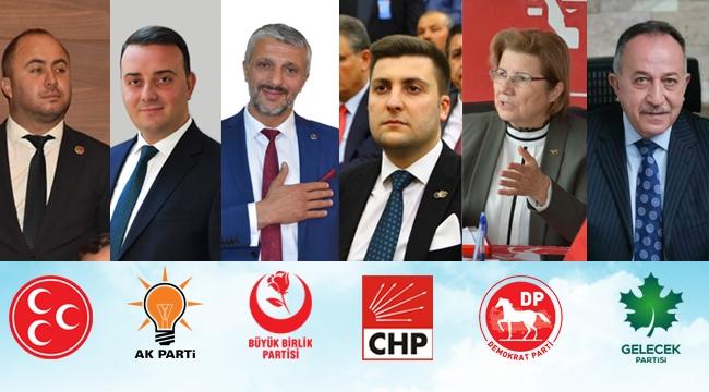 Silivri'deki Siyasi Parti İlçe Başkanlarından Anneler Günü Mesajları