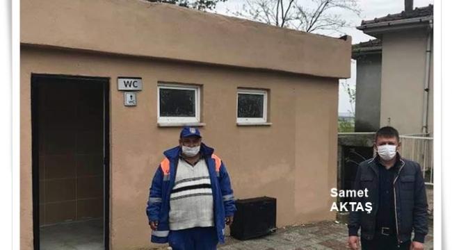 Yolçatı Mahallesi'nde Tuvaletler Yenilendi! Muhtar Aktaş'tan Silivri Belediyesi'ne Teşekkür!