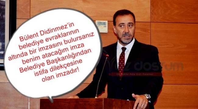 Bülent Didinmez Sorusu Başkan Yılmaz'ı Kızdırdı!