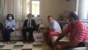CHP Silivri, Şehit Ailelerini Yalnız Bırakmadı
