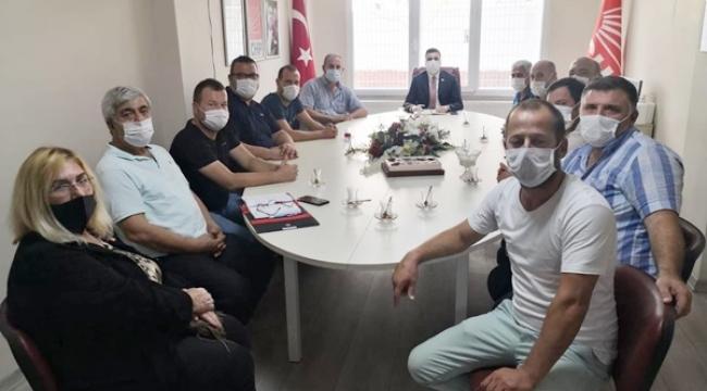"""CHP Silivri'ye """"Sarı Taksi ve T Plaka"""" teşekkürü"""
