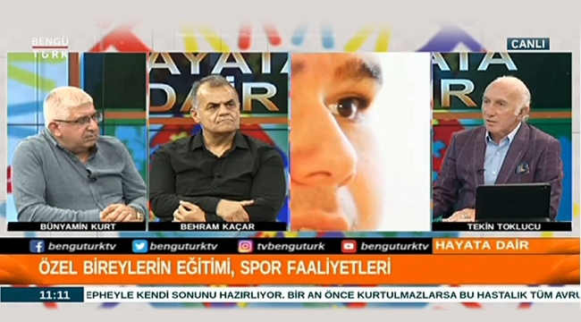 Bünyamin Kurt, Bengütürk TV'de Özel Sporcuları Anlattı