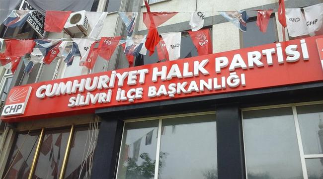 CHP Silivri İlçe Başkanlığı, ziyaretçilere kapandı! Faaliyetlere ara verildi