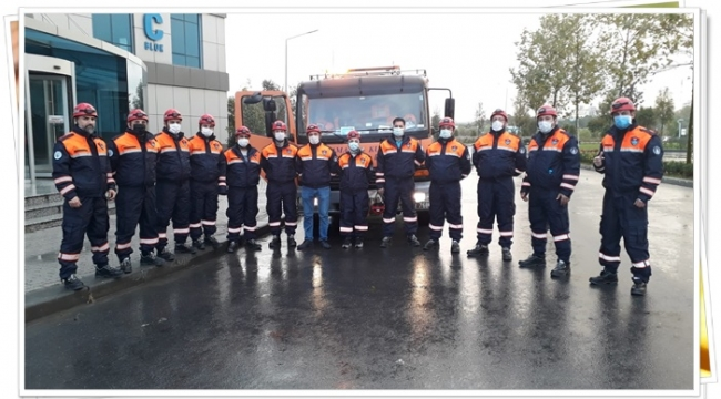 İBB Yardım Ekibi İzmir'e Hareket Etti