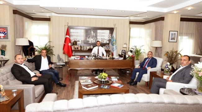 MHP MYK Üyelerinden Başkan Yılmaz'a Ziyaret