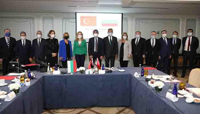 Sarıbekir, Bulgaristan ve Türkiye arasında yapılan turizm toplantısına katıldı