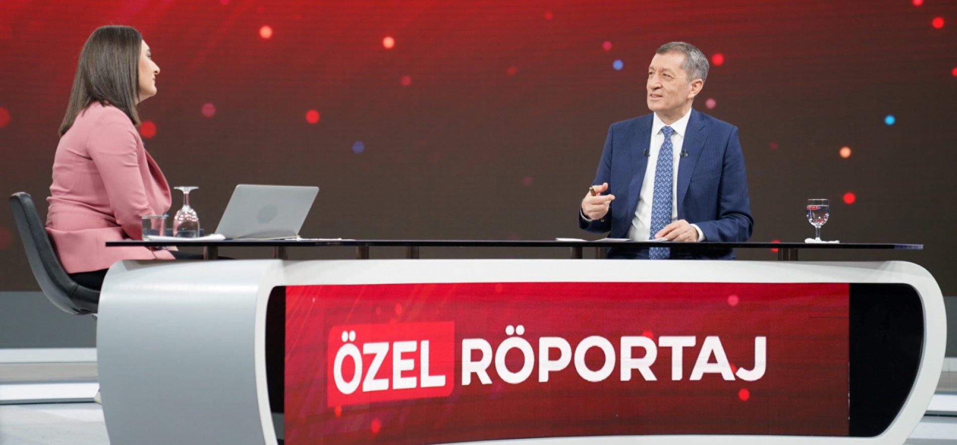 Bakan Selçuk TRT Haber Canlı Yayınında Soruları Yanıtladı