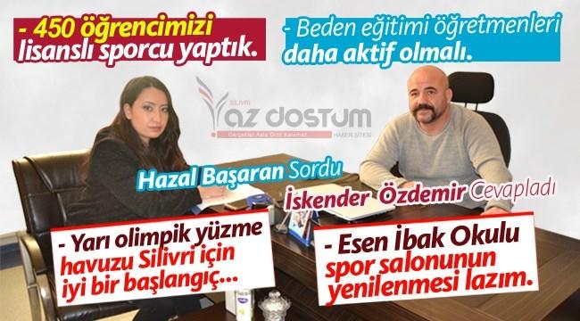 """İskender Özdemir: """"Çocukları Sporla Tanıştırmak Görevimiz"""""""