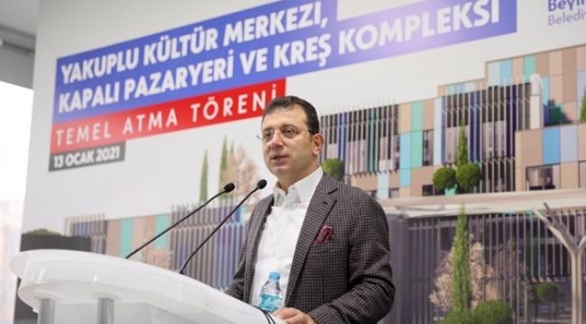 """Başkan İmamoğlu: """"Oy Versin Vermesin Vatandaşla İlişkimiz Değişmeyecek"""""""