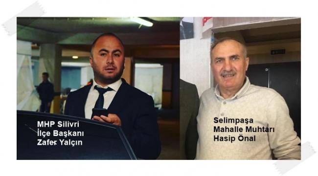 Selimpaşa Muhtarı ile MHP'li Yalçın, İBB'yi eleştireyim derken çuvalladı!