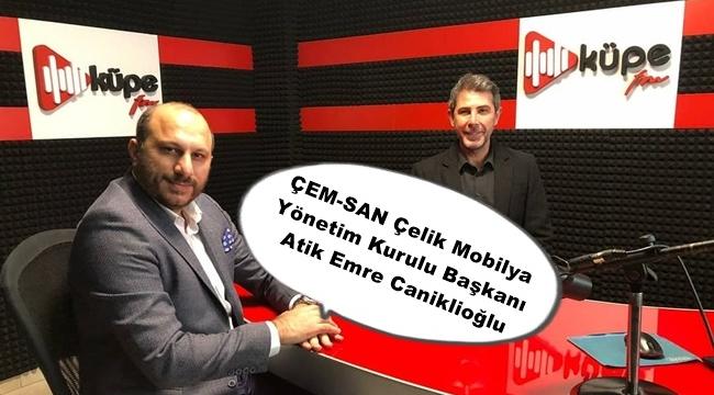 Silivri Ortaköy'de faaliyet gösteren ÇEM-SAN, metal mobilya üretiyor!
