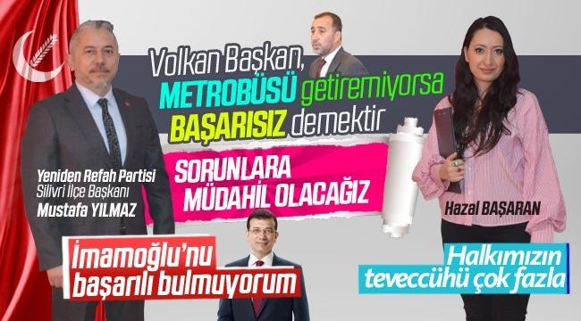"""Mustafa Yılmaz: """"Yeniden Refah olarak Silivri için çalışacağız!"""""""