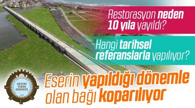 Sultan Süleyman Köprüsü'nün restorasyonu soru işaretleri yarattı