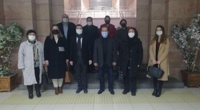 CHP'den İstanbul Barosu Silivri Temsilciliğine ziyaret