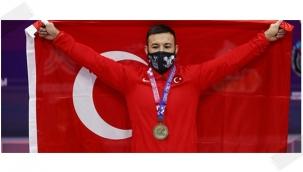 İBB'li Daniyar İsmayilov rekorla Avrupa Şampiyonu