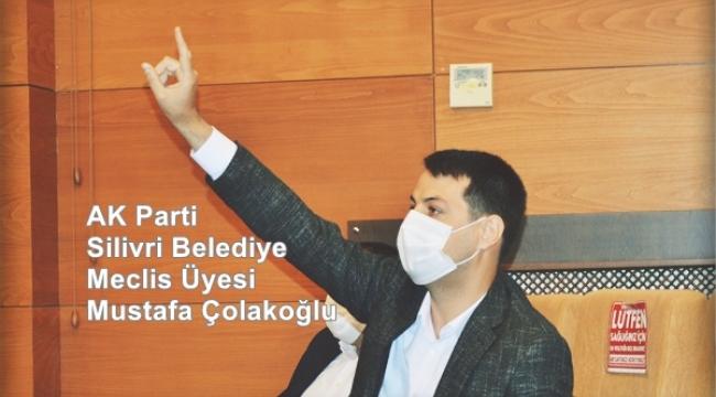 """Çolakoğlu; """"İstanbul Halkı Sizin Elektrikleri 2024'te Tamamen Kesecek!"""""""