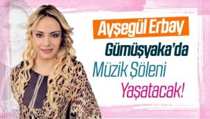 Ayşegül Erbay, Gümüşyaka'da sahne alacak!