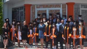 Çizgi Koleji'nde mezuniyet heyecanı yaşandı
