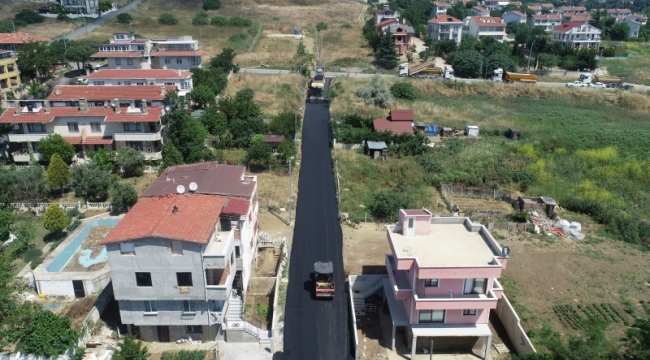 Cumhuriyet Mahallesi Sokakları Asfalta Kavuşuyor