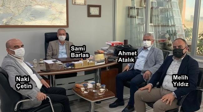 """İBB'nin TarımveHayvancılık Desteklemeleri """"AK Partili Barlas'la"""" İstişare Edildi"""