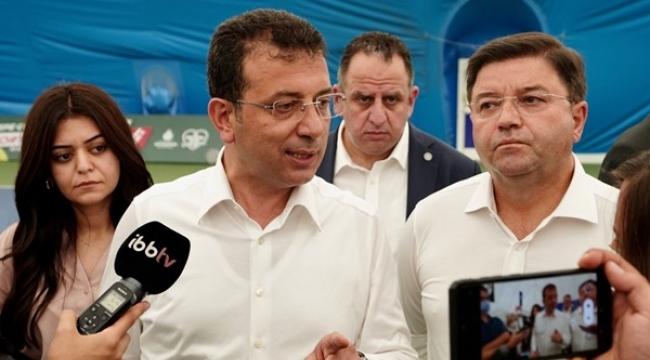 """İmamoğlu'ndan Erdoğan'a: """"Bizi İmrenerek Takip Ediyor; İzlemeye Devam Etsin"""""""