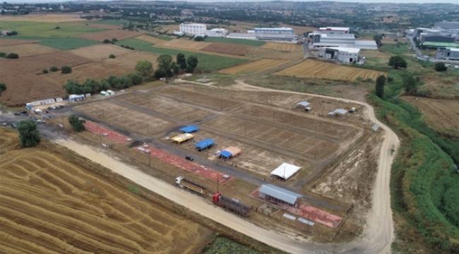 Silivri Belediyesi, Selimpaşa'da Kurban Satış ve Kesim Yeri Kurdu