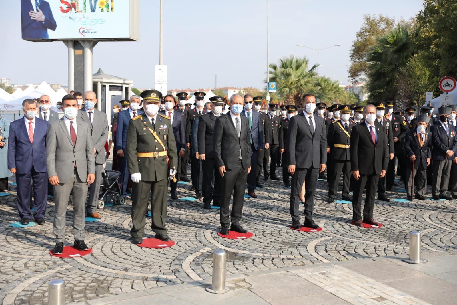 30 Ağustos Zafer Bayramı Silivri'de Törenle Kutlandı