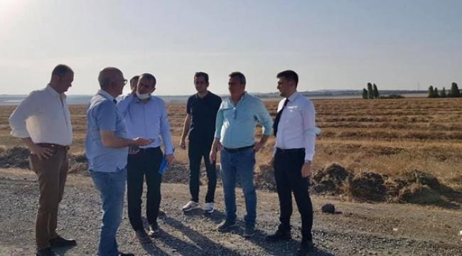 7.5 kilometrelik Silivri-Gazitepe yoluna İBB'den asfalt