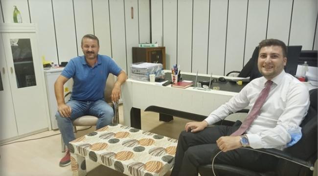 Başkan Esen'den Tamer Bıyıklı'ya ziyaret